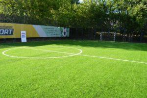 Площадки для мини-футбола с искусственным покрытием 40 на 20 метров
